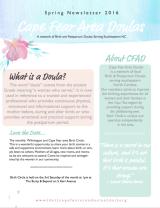 CFAD Newsletter – PremiereEdition!